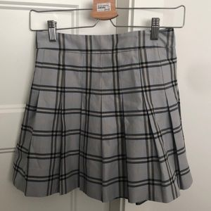 Sunday best plaid skirt